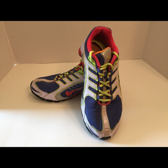 c53d530627e ... coupon nike shox navina violet pink shoes womens 9.5 us 50018 aac90